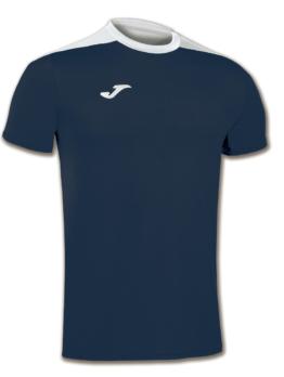 Joma Spike Volleyball Trikot Kurzarm navy blau-weiß