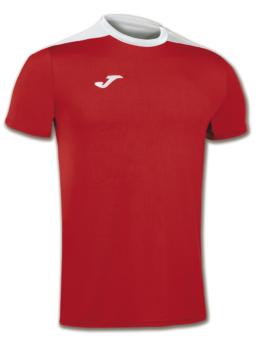 Joma Spike Volleyball Trikot Kurzarm rot-weiß Kinder