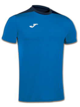 Joma Spike Volleyball Trikot Kurzarm royal-navy blau Kinder