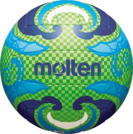 Molten V5B1502-L Beachvolleyball Freizeitball grün-blau