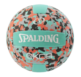 Spalding Beach Volleyball King of the Beach türkis-rot