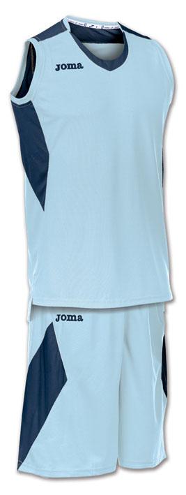 Joma Set Space Basketball Trikot-Set hellblau-dunkelblau