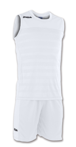 Joma Set Space II Basketball Trikot-Set weiß