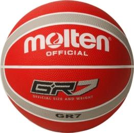 Molten GR7 Basketball Größe 7 - Rot