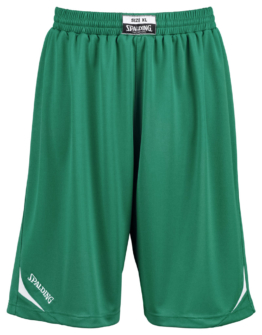 Spalding Attack Shorts Basketball grün