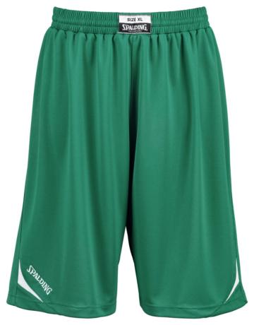Spalding Attack Shorts Basketball grün