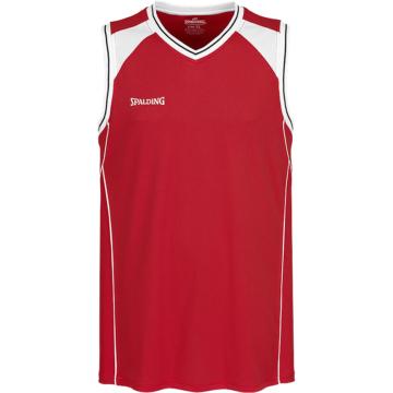 Spalding Crossover Tank Top rot Basketball Trikot