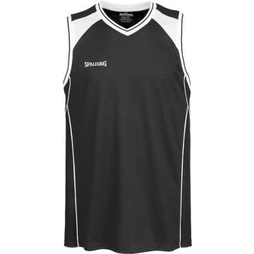 Spalding Crossover Tank Top schwarz Basketball Trikot
