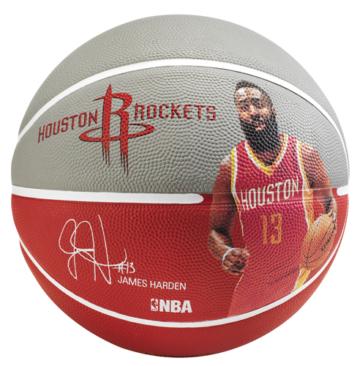 Spalding NBA James Harden Basketball - Größe 7