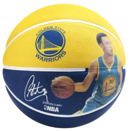 Spalding NBA Stephen Curry Basketball - Größe 7
